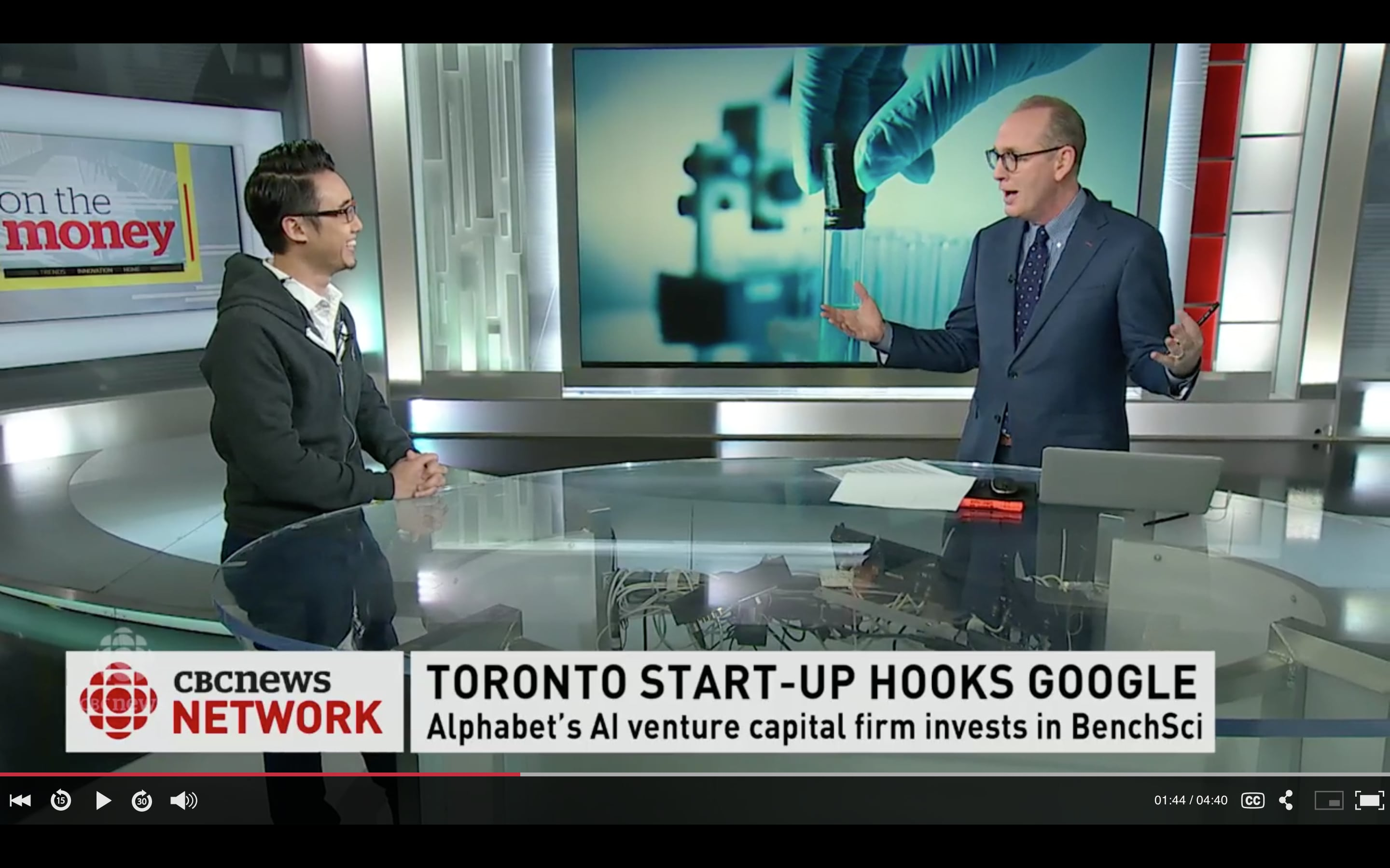 Canada's BenchSci Gets Cash Infusion from Google Parent Alphabet