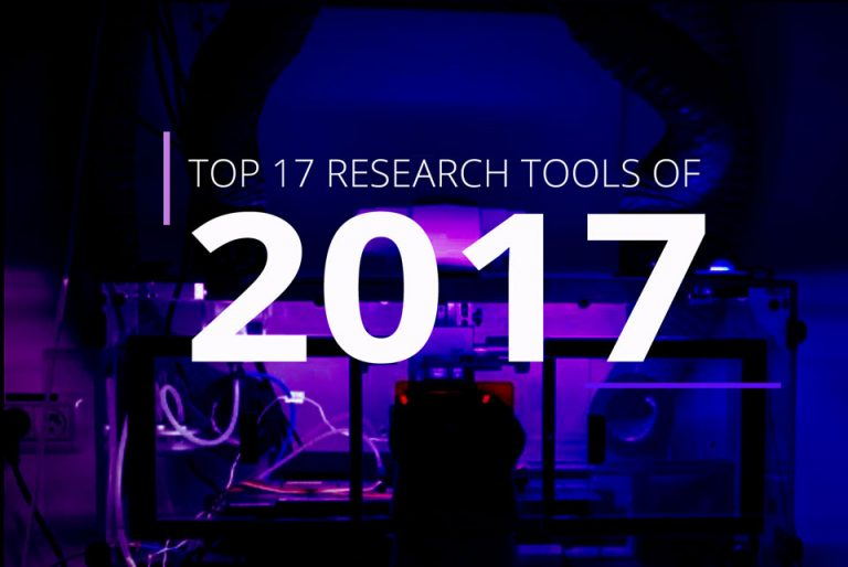 Top 17 Research Tools of 2017